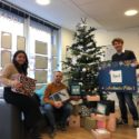 Collecte de boites de Noël pour les démunis - Axel Immobilier 01